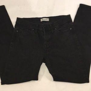 Madewell  Women black jeans Skinny skinny jeans 30